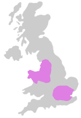 map of areas served by Howard Hackney LLP